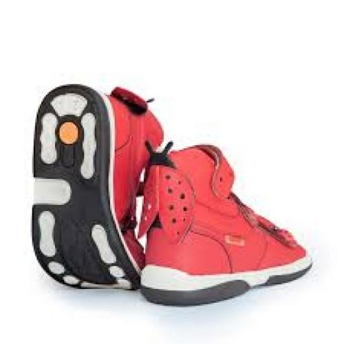 MEMO LADYBIRD  červené dievčenské supinované sandále 22-29 - 3