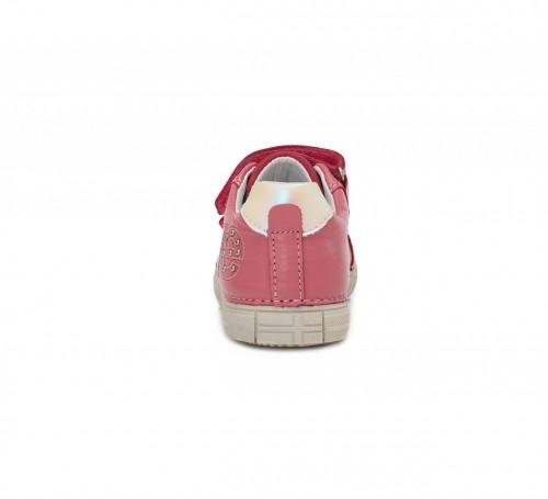 D.D.step ružovo dievčenské detské topánky na suchý zips 25-30 - 3