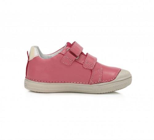 D.D.step ružovo dievčenské detské topánky na suchý zips 25-30 - 4