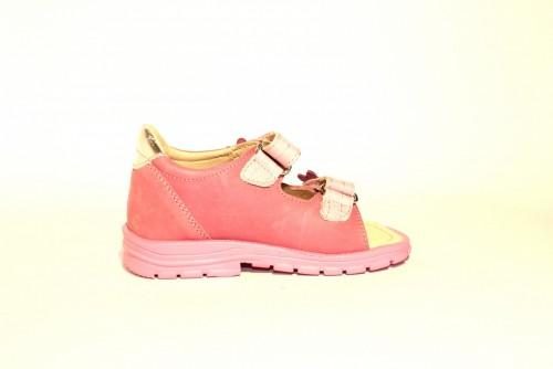 Supykids MIMI detské supinované dievčenské sandále na suchý zips ružové 20-30 - 6