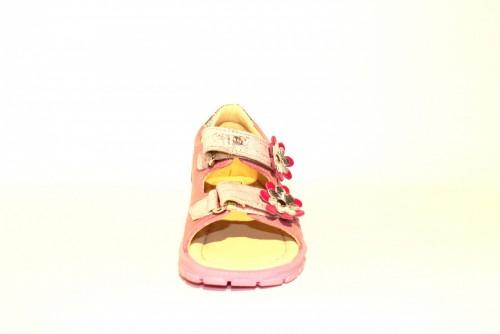 Supykids MIMI detské supinované dievčenské sandále na suchý zips ružové 20-30 - 7