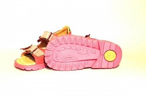 Supykids MIMI detské supinované dievčenské sandále na suchý zips ružové 20-30 - 9