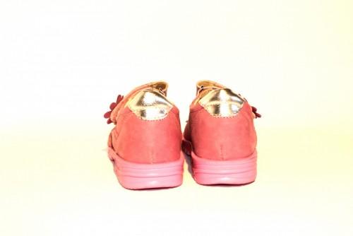 Supykids MIMI detské supinované dievčenské sandále na suchý zips ružové 20-30 - 10