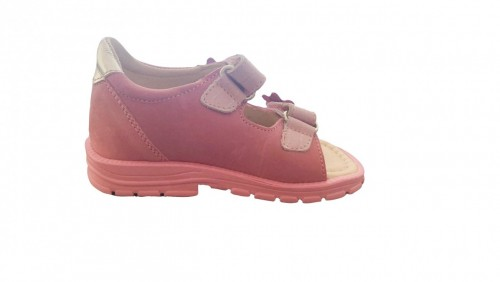 Supykids MIMI rózsaszín lány tépőzáras supinált gyerekszandál 20-30 - 4