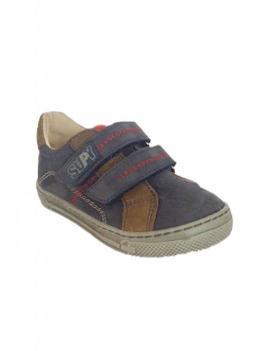 Supykids MODIX kék-barna fiú tépőzáras gyerekcipő 22-30 - 3