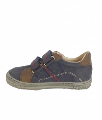 Supykids MODIX kék-barna fiú tépőzáras gyerekcipő 22-30 - 4