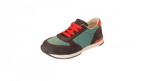 Supykids FLASH  modré šnurovacie chlapčenské detské topánky 22-30 - 2