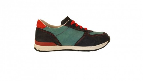 Supykids FLASH  modré šnurovacie chlapčenské detské topánky 22-30 - 3