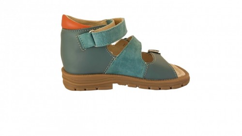 Supykids SOMA detské supinované sandále na suchý zips modré 20-30 - 4