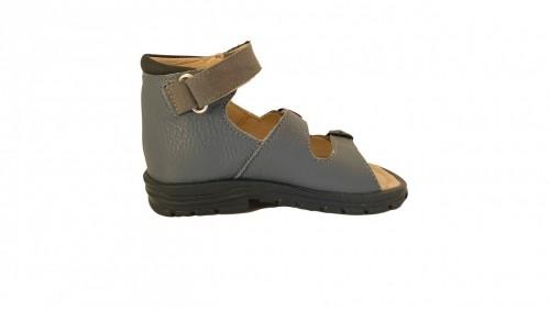 Supykids SASA detské supinované sandále na suchý zips modro-sivé 20-30 - 4