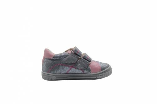 Supykids MODIX ezüst-rózsaszín lány tépőzáras gyerekcipő 22-30 - 3