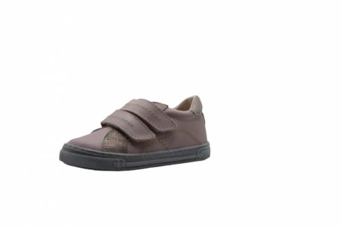 Supykids MODIX béžová-zlato dievčenské detské topánky na suchý zips 22-30 - 3