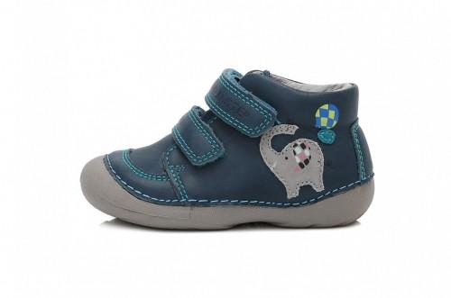 c04244a39cea D.D. STEP detské chlapčenské modré topánky so suchým zipsom 19-24